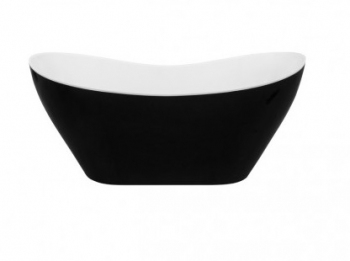 Wanna wolnostojąca 160x70 VIYA Black&White Besco