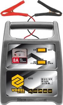 Prostownik do akumulatorów 6/12V 116Ah Vorel 82552