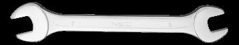 Klucz płaski dwustronny 19 x 22 mm NEO 09-819