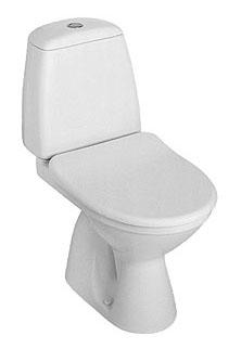 Kompakt WC SOLO 3/6L pionowy 079211 Koło bez deski