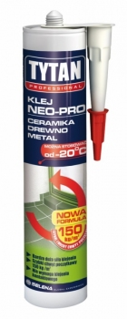 Klej montażowy NEO PRO 310 ml TYTAN