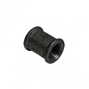 Mufa żeliwna czarna 2