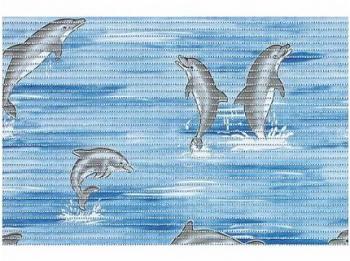 Mata antypoślizgowa piankowa 50x80 Dolphin