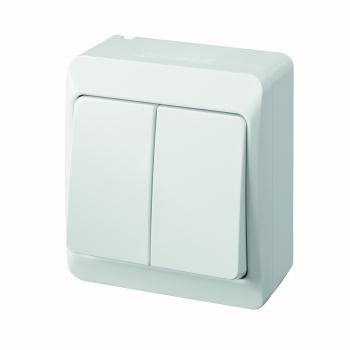 Przełącznik podwójny Hermes 0332-02 Elektro-Palst