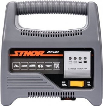 Prostownik LED do akumulatorów 12V 6A 90Ah STHOR 82542