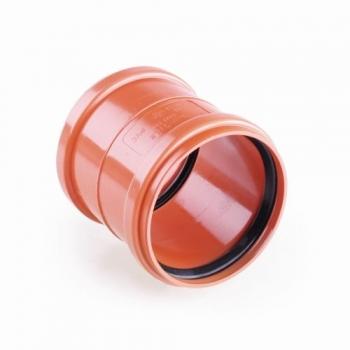 Dwuzłączka nasuwka kanalizacyjna Ø200 PVC