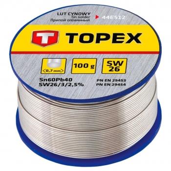 Cyna do lutowania 100 g SW26B Topex 44E522