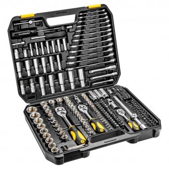 Zestaw kluczy nasadowych 219 elementów TOPEX 38D852
