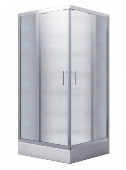 Kabina MODERN 80x80x165 szkło mrożone Besco