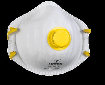 Maska przeciwpyłowa z zaworem FFP2 TOPEX 82S132