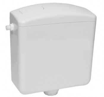 Spłuczka klawiszowa OPAL LUX biała INTER-SANO