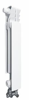 Grzejnik aluminiowy G 500 F/D/1 element lewy z zasilaniem dolnym KFA