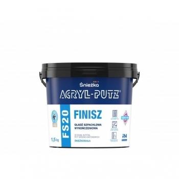 Gładź szpachlowa 1,5kg ACRYL-PUTZFS20 FINISZ
