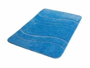 Dywanik niebieski 60x90 cm mikrofibra ONE