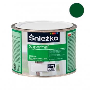 Emalia Olejno-Ftalowa SUPERMAL zielona 0,2L ŚNIEŻKA