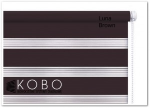 Roleta 'Dzień-Noc' 57x150cm Mini Luna KOBO