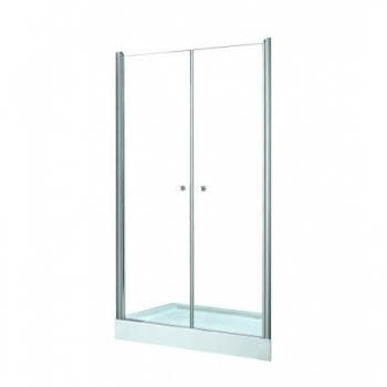 Drzwi prysznicowe 90x195cm wahadłowe SINCO DUE Besco