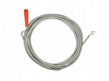 Sprężyna kanalizacyjna fi 5 mm o długości 1,5 m