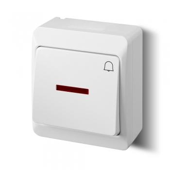 Przycisk dzwonek z podświetleniem HERMES 0347-02 Elektro-Plast