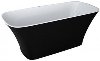 Wanna wolnostojąca 160x70 ASSOS Black&White Besco