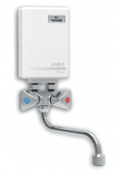 Ogrzewacz wody PERFECT 4,5kW  z wylewką 21cm Wijas