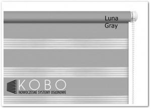 Roleta 'Dzień-Noc' 52x150cm Mini Luna KOBO
