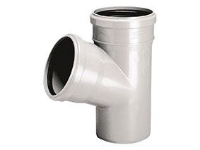 Trójnik PVC-U 50x50/67 Wavin