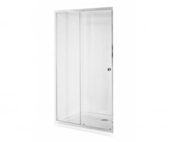 Drzwi prysznicowe 130x195cm suwane DUO SLIDE Besco