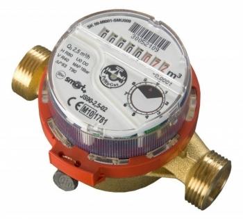 Wodomierz JS90- 1,5 ciepła woda DN15 1/2