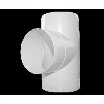 Łącznik trójnik okrągły D/TO Ø100 007-0218 Dospel