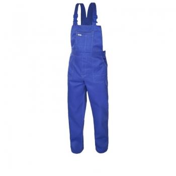 Spodnie ogrodniczki rozm.182/114 COMFORT niebieskie