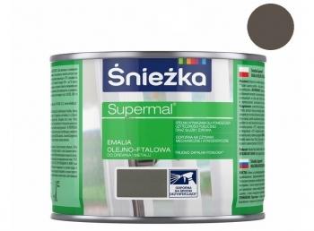 Emalia Olejno-Ftalowa SUPERMAL szara 0,2L ŚNIEŻKA