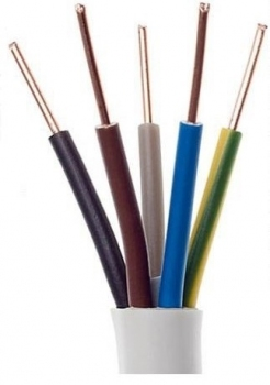 Przewód instalacyjny YDY 5x6 450/750V Elektrokabel