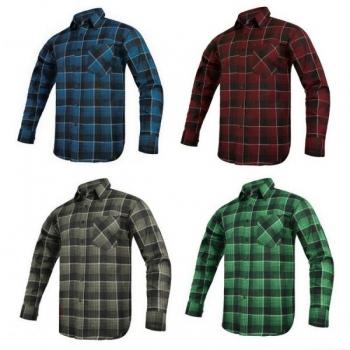 Koszula flanelowa MODAR rozm.42 mix kolorów