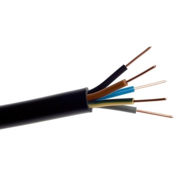 Przewód przyłączeniowy ziemny YKY 5x10 600/1000V Elektrokabel