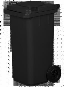 Pojemnik na odpady 120L grafit/czarny