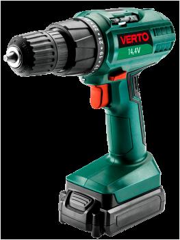 Wiertarko-wkrętarka akumulatorowa 14.4 V VERTO 50G5274