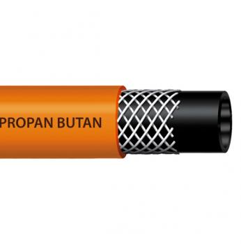 Wąż do gazu Fi 9mm PROPAN-BUTAN 25m
