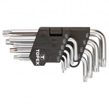 Zestaw kluczy pięciokątnych 9 szt. Topex 35D950