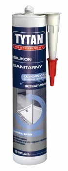 Silikon sanitarny szary 310 ml TYTAN