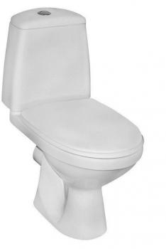 Kompakt WC SOLO 3/6L poziomy 079210 Koło bez deski