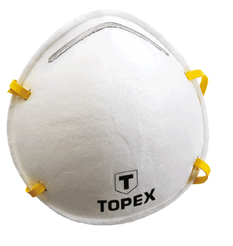 Maska przeciwpyłowa FFP2 TOPEX 82S131