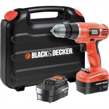 Wiertarko-wkrętarka akumulatorowa 12 V Black&Decker EPC12CABK