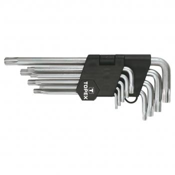 Zestaw kluczy Torx długie Topex 35D961