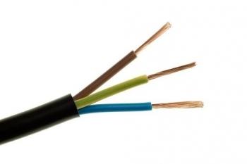 Przewód gumowy 3x1,5 H05RR-F (OW) 300/500V Elpar