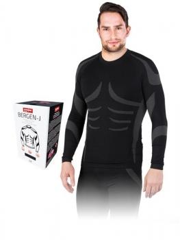 Koszulka termoaktywna BERGEN-J rozm.M-XXL długi rękaw