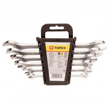 Zestaw kluczy płaskich 6 szt. Topex 35D655