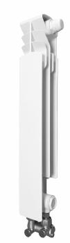 Grzejnik aluminiowy G 500 F/D/1 element prawy z zasilaniem dolnym KFA