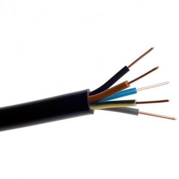 Przewód przyłączeniowy ziemny YKY 5x4 600/1000V Elektrokabel
