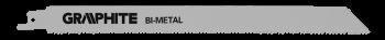 Brzeszczot bagnetowy 150x20x0.9mm GRAPHITE 57H951